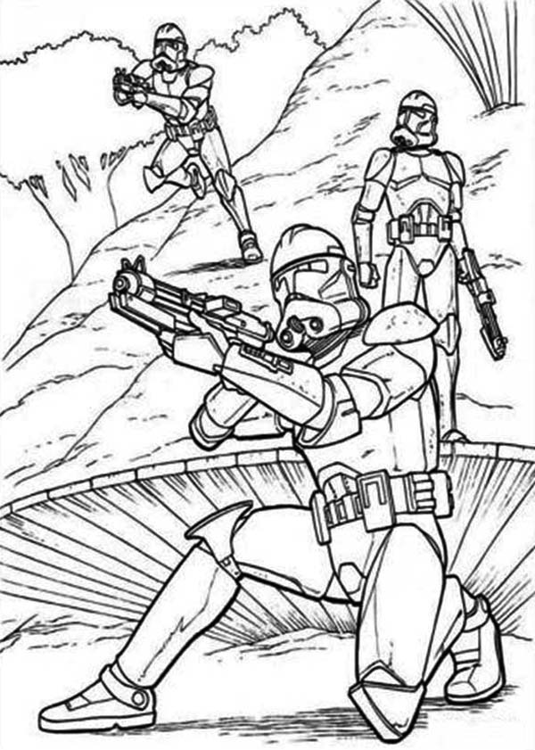 coloring star wars clone printable coloring pages clone star coloring wars