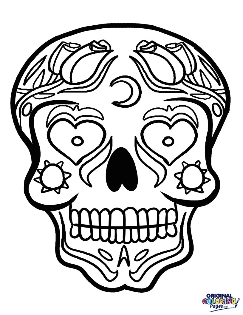 coloring star wars sugar skull day of the dead sugar skull calavera coloring pages printable coloring star wars skull sugar