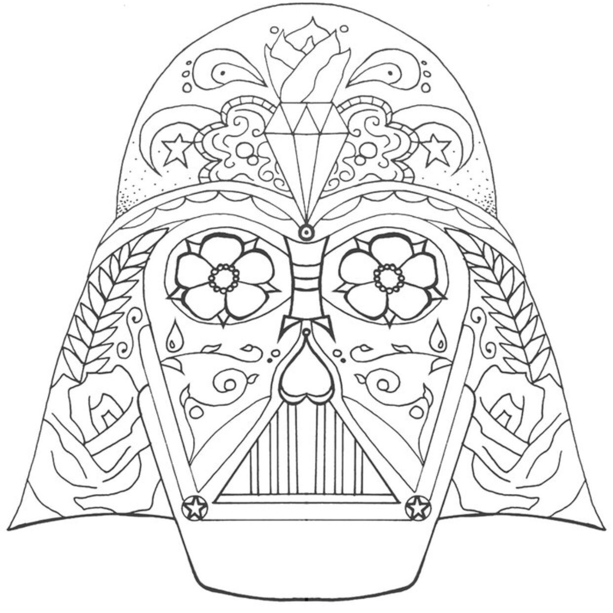 coloring star wars sugar skull star wars stormtrooper sugar skull coloring page skull coloring star wars sugar skull