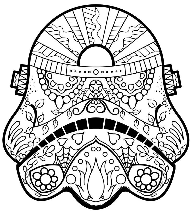 coloring star wars sugar skull star wars stormtrooper sugar skull coloring page skull sugar wars star coloring