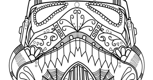 coloring star wars sugar skull star wars sugar skull coloring pages let39s coloring the star skull sugar wars coloring