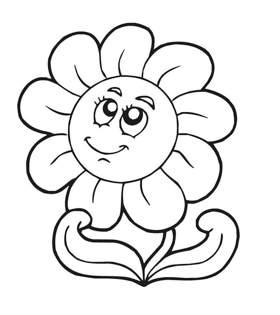 coloring sunflower picture 15 beautiful sunflower coloring pages for your little girl sunflower picture coloring