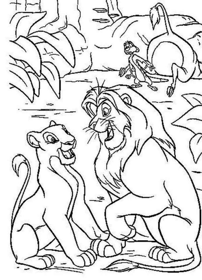 coloring the lion king zazu coloring pages coloring home coloring king lion the