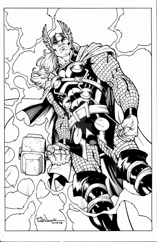 coloring thor outline cosplaying as thor outline by kristofferson89 on deviantart coloring outline thor
