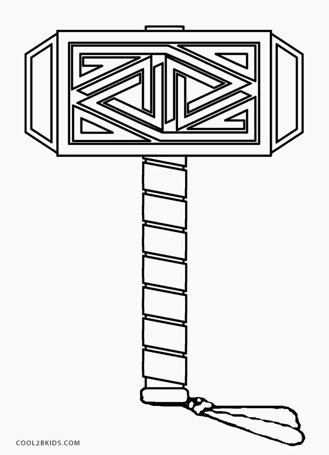 coloring thor outline thor ragnarok coloring page free printables coloring coloring outline thor