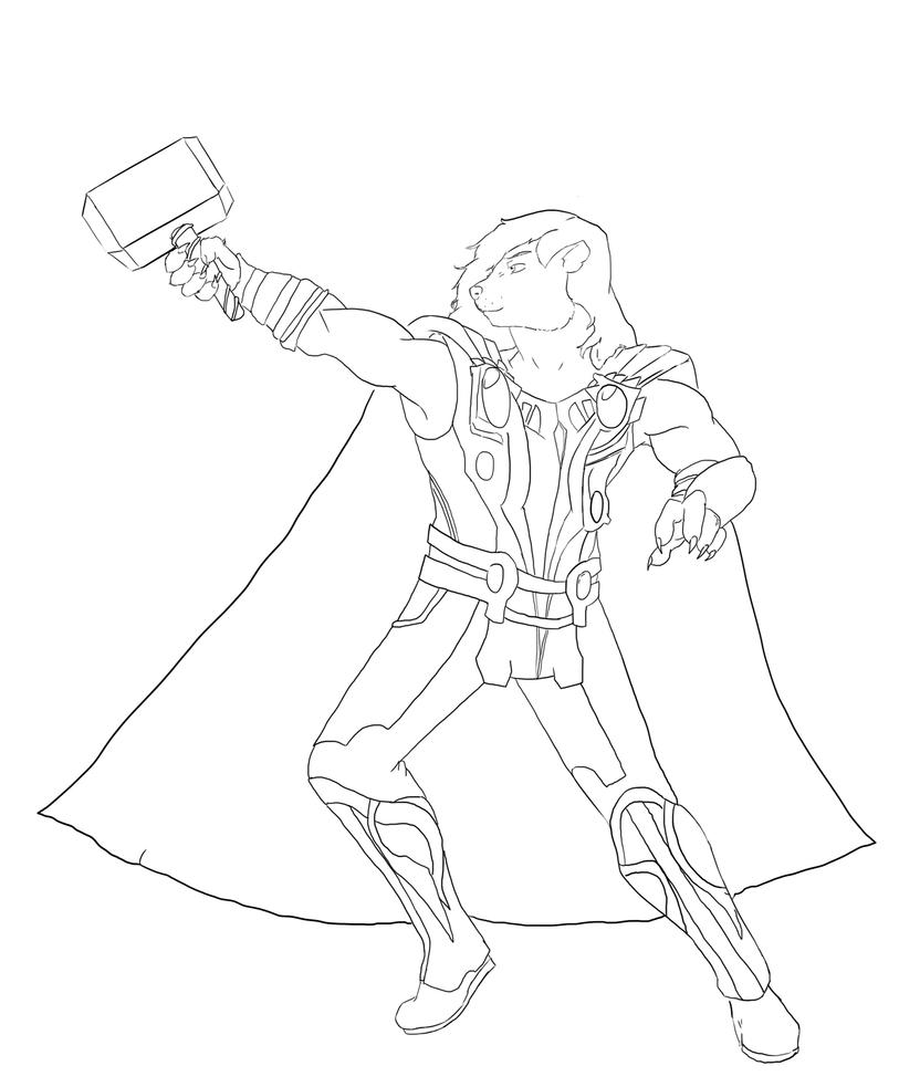coloring thor outline thor ragnarok coloring page free printables coloring outline thor coloring