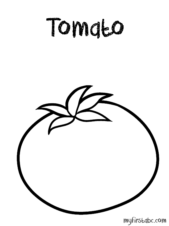 coloring tomato outline tomato coloring pages outline tomato coloring