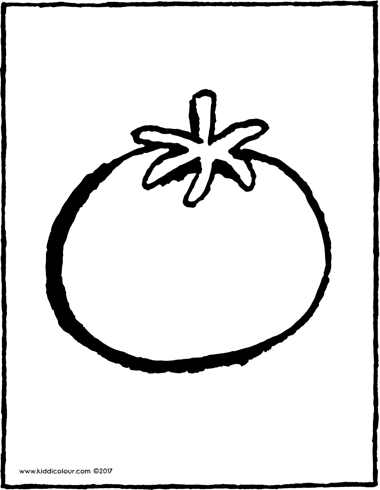 coloring tomato outline tomato drawing pictures at getdrawings free download outline tomato coloring