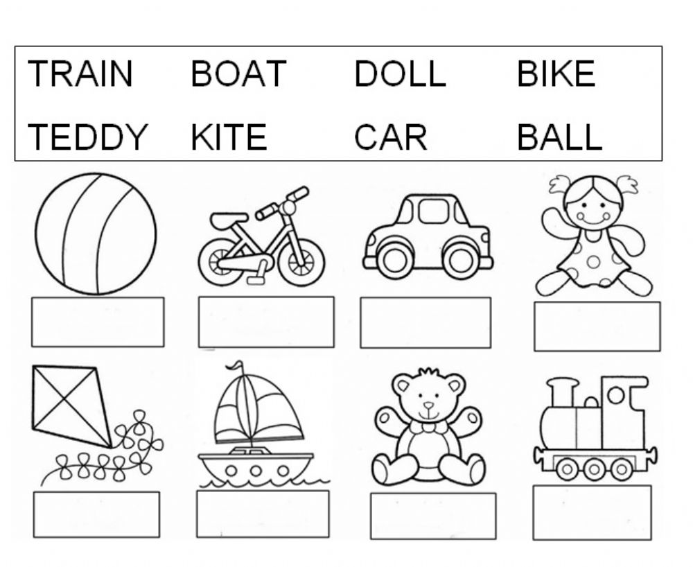 coloring toy worksheet vocabulary of toys interactive worksheet coloring toy worksheet