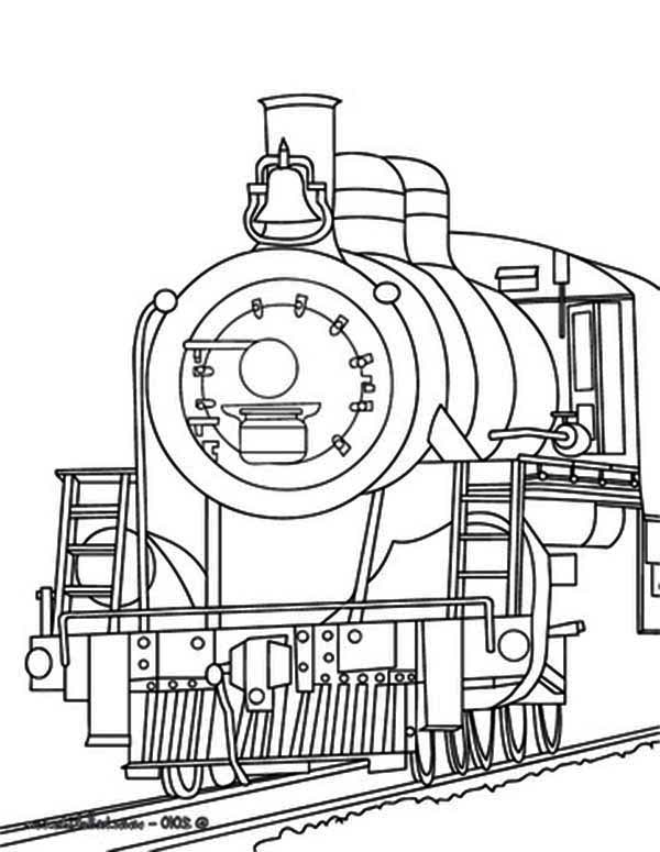 coloring train cartoon train coloring pages at getcoloringscom free coloring train