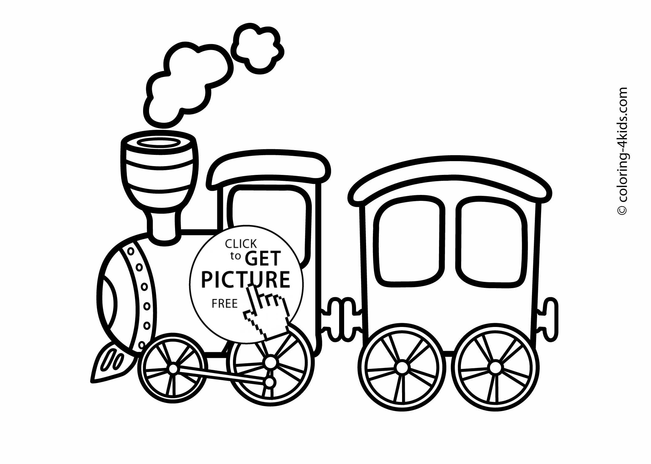coloring train cute train coloring pages for kids coloring train