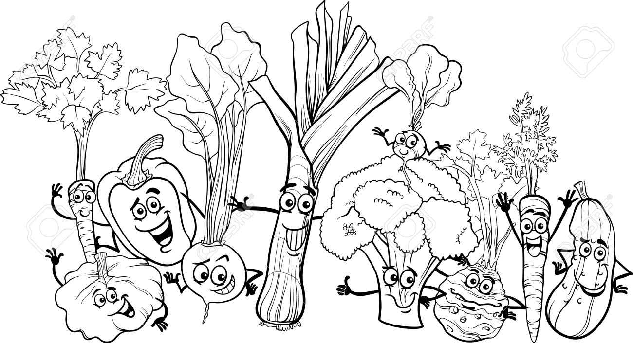 coloring vegetables and fruits fruits and vegetables coloring pages getcoloringpagescom coloring and fruits vegetables