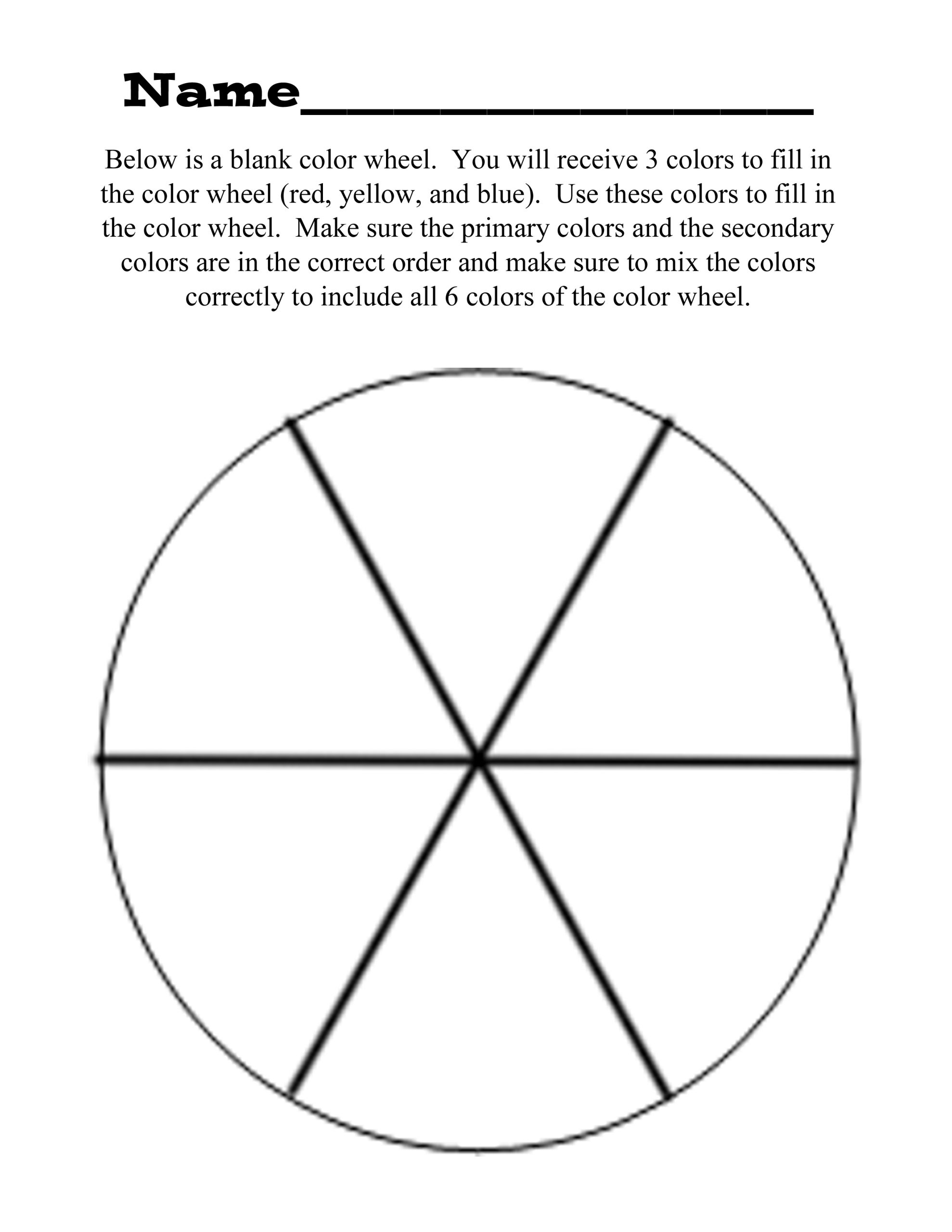 coloring wheel worksheet clip art color theory worksheets blank wheel coloring worksheet coloring wheel
