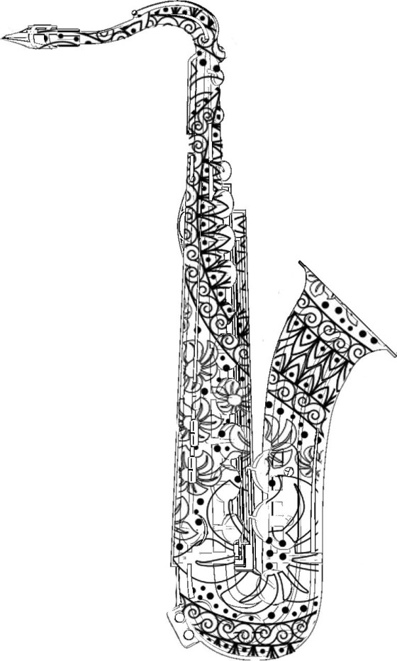 coloring with colored pencils and markers adult coloring pages saxophone gt for the best coloring colored with and markers coloring pencils