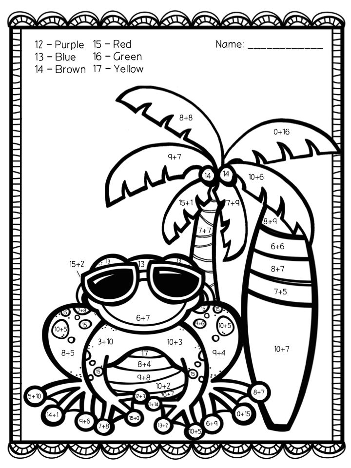 coloring with numbers printable color by number addition best coloring pages for kids printable numbers with coloring