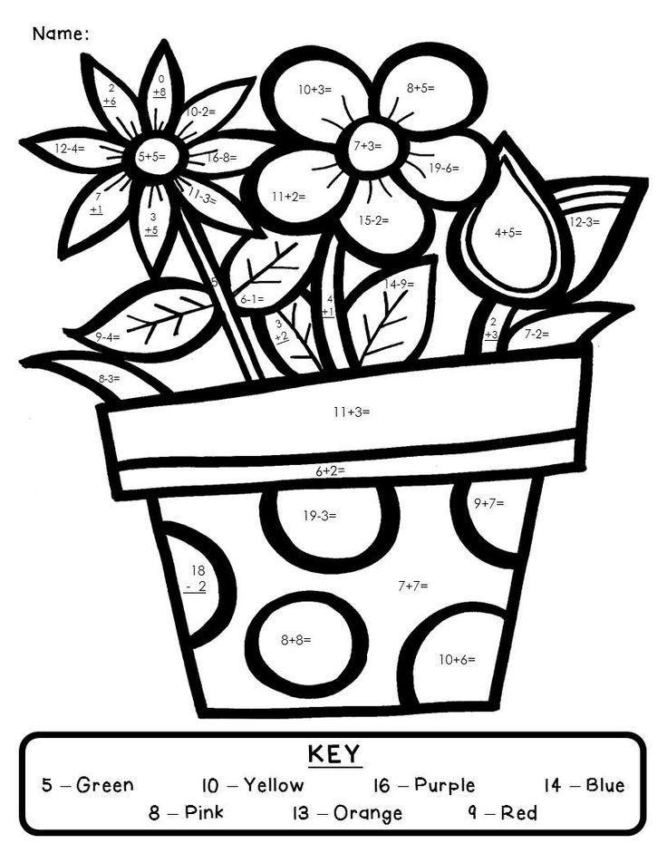 coloring with numbers printable color by number addition best coloring pages for kids printable numbers with coloring 1 1