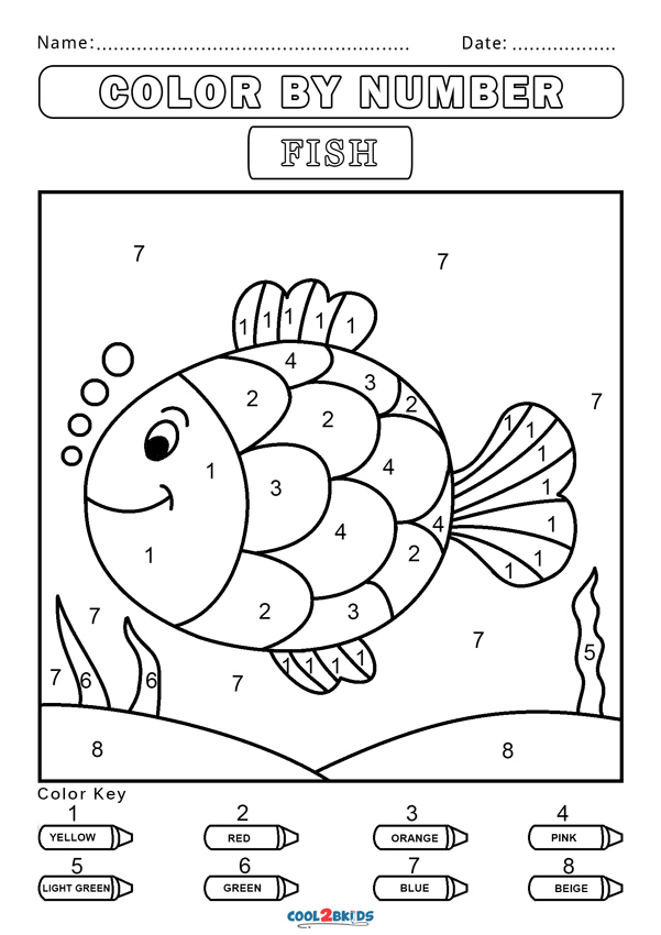 coloring with numbers printable free color by number worksheets cool2bkids printable with numbers coloring