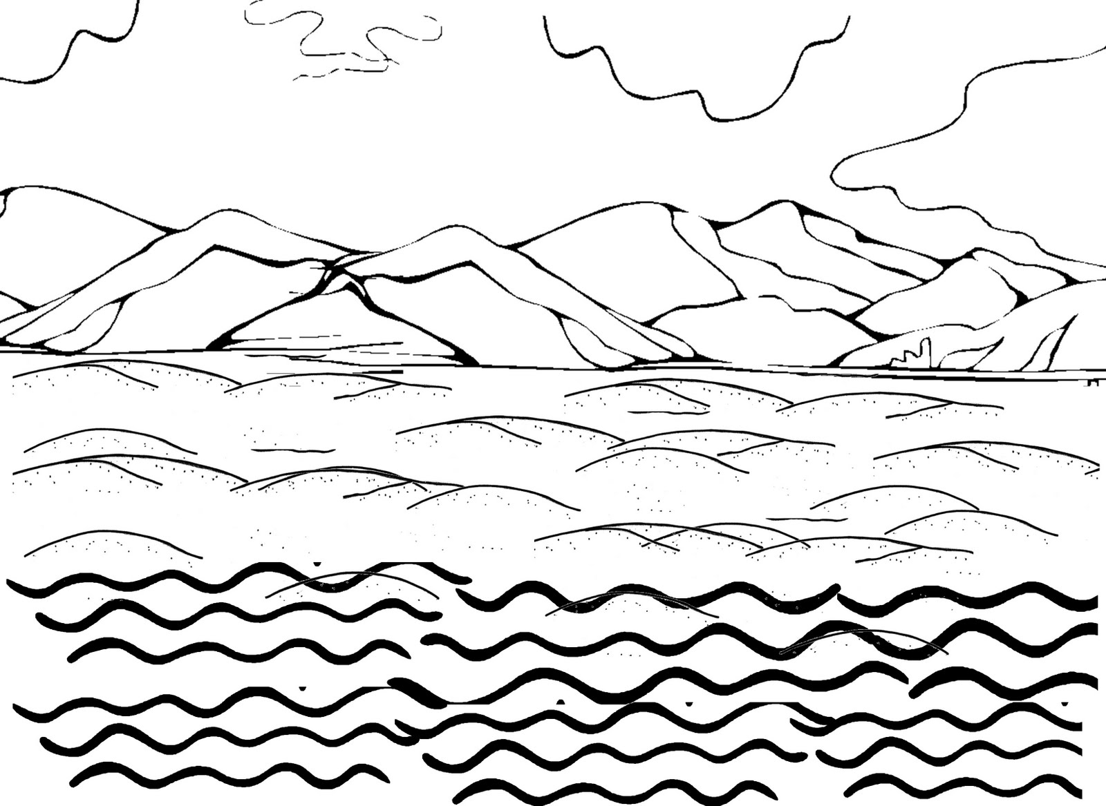 coloring with water ocean waves coloring pages at getcoloringscom free coloring water with