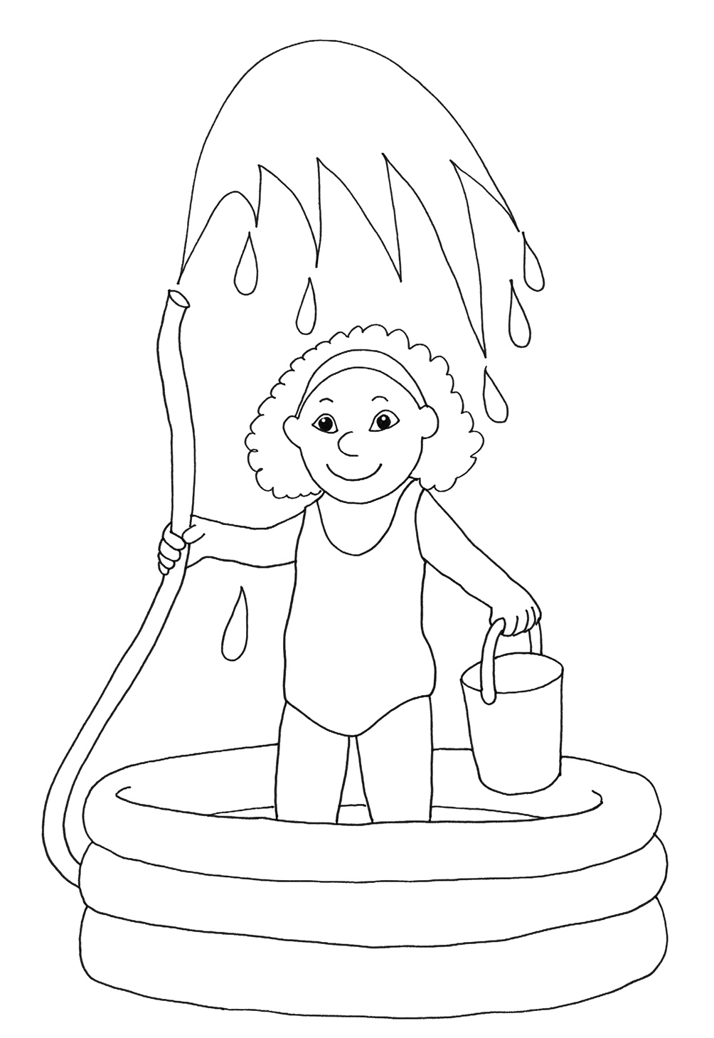 coloring with water summer coloring pages to print coloring with water