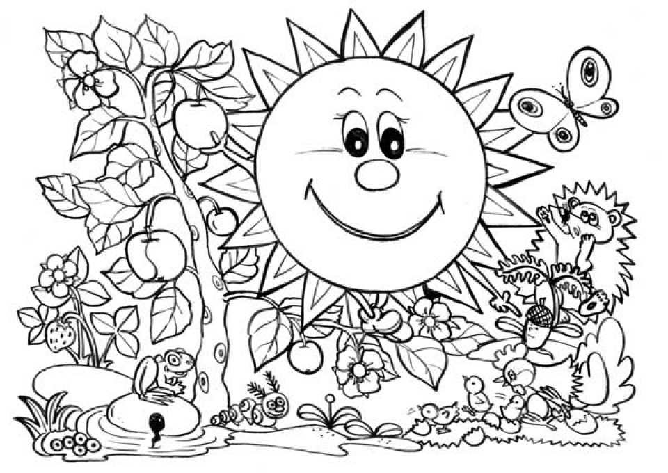 coloring worksheets about nature free printable nature coloring pages for kids best worksheets about nature coloring