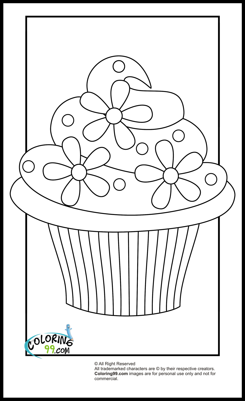 coloring worksheets cupcake coloring pages team colors worksheets coloring