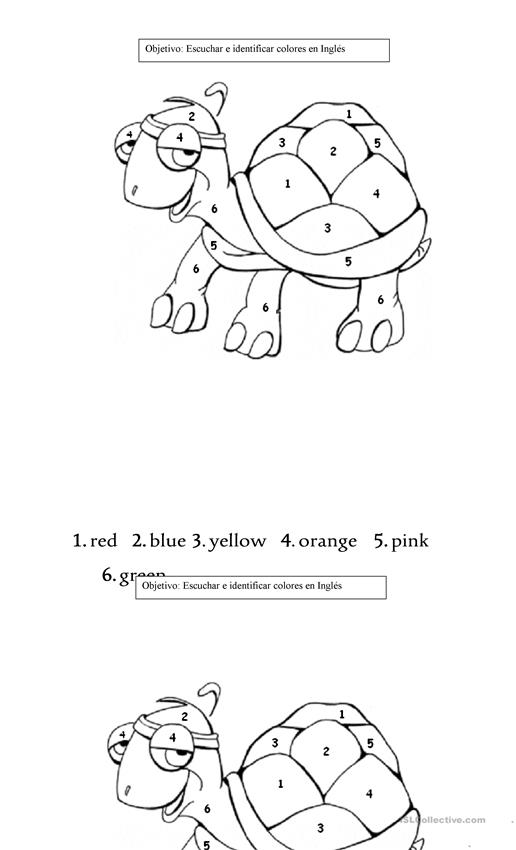 coloring worksheets english colour by numbers colourful animals english esl worksheets english coloring