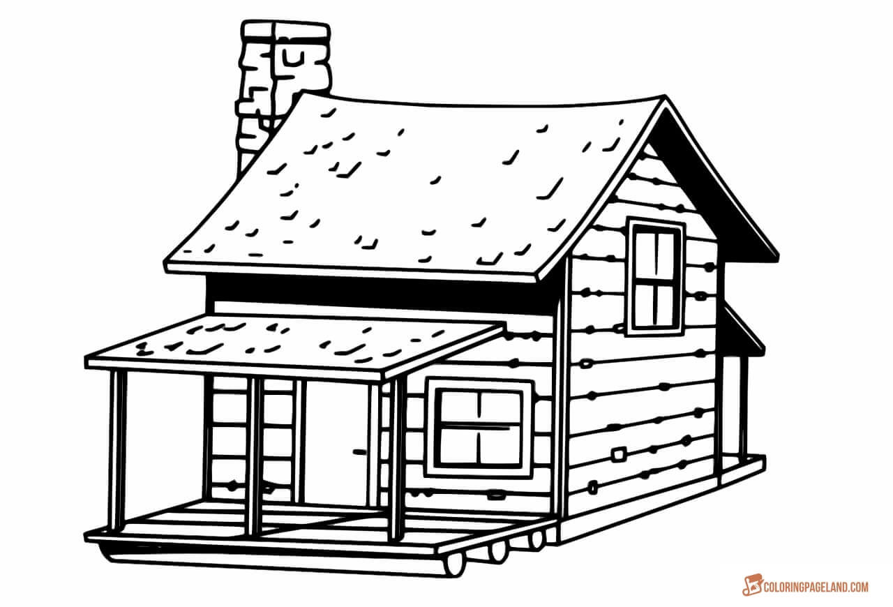 coloring worksheets house house coloring pages to download and print for free house worksheets coloring 1 1