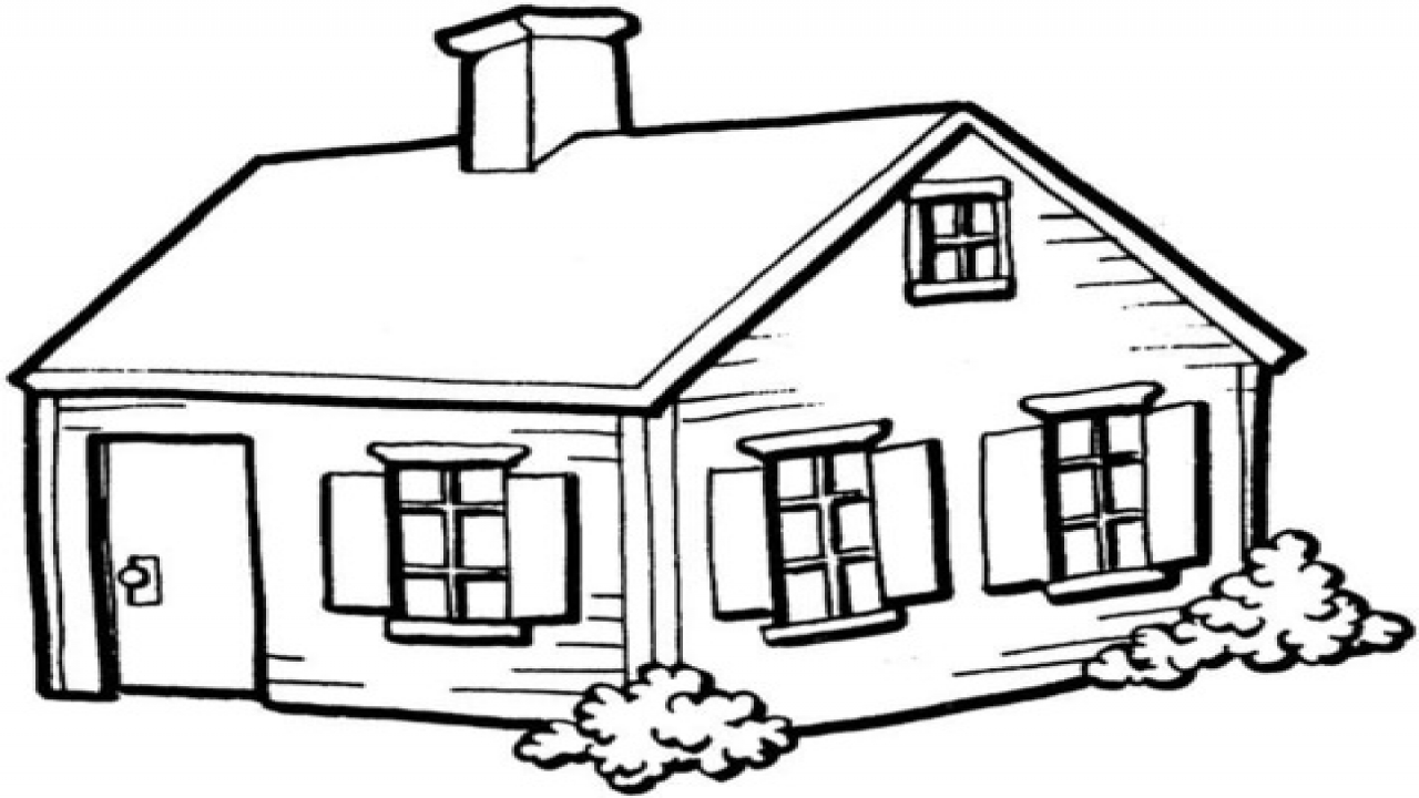 coloring worksheets house inside house coloring pages at getcoloringscom free coloring worksheets house
