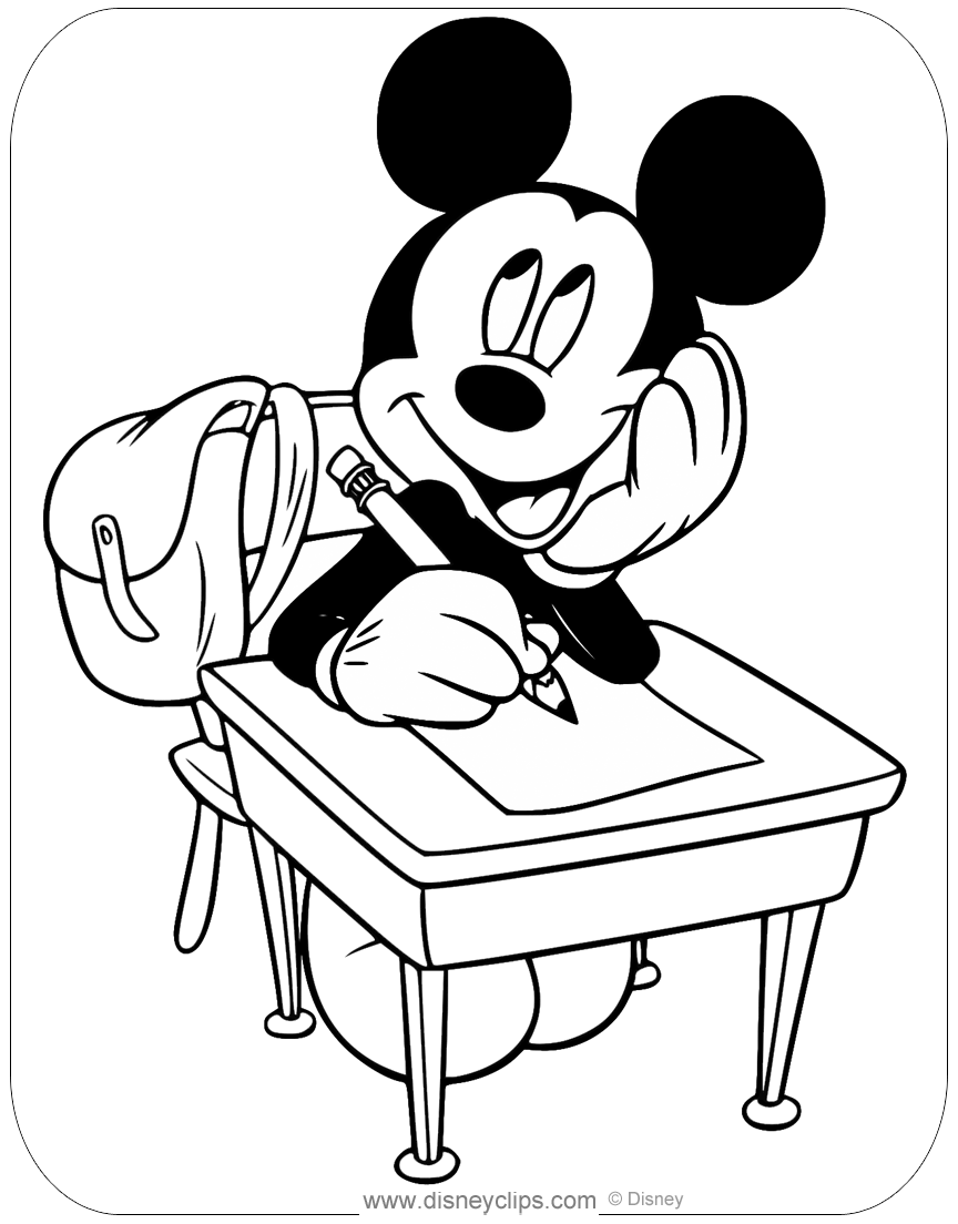 coloring worksheets mickey mouse misc mickey mouse coloring pages 2 disneyclipscom mickey coloring mouse worksheets