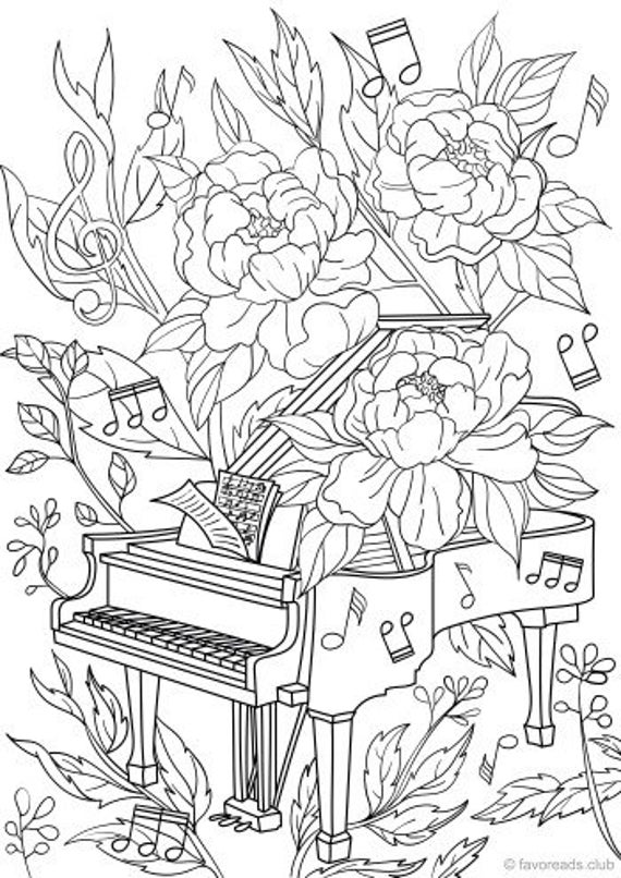 coloring worksheets piano coloring pages coloring home coloring worksheets