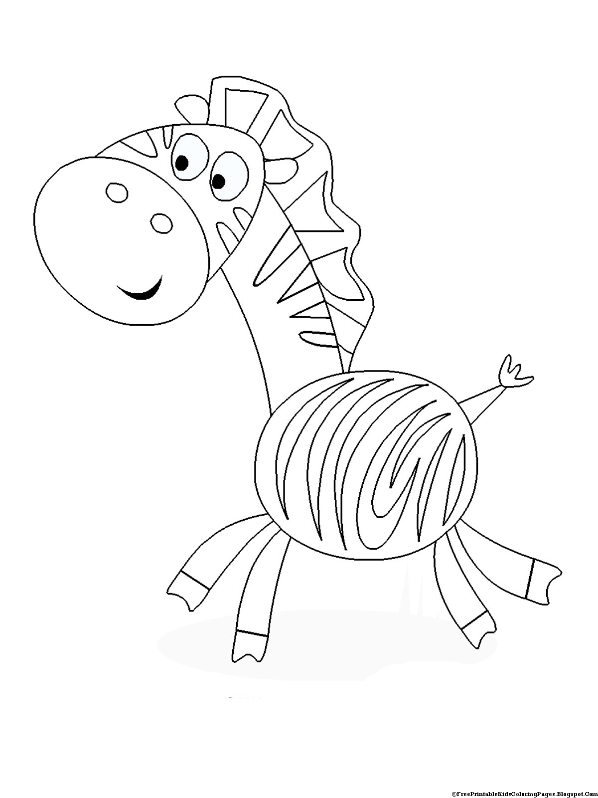 coloring zebra pictures cartoon zebra coloring page free printable coloring pages pictures coloring zebra