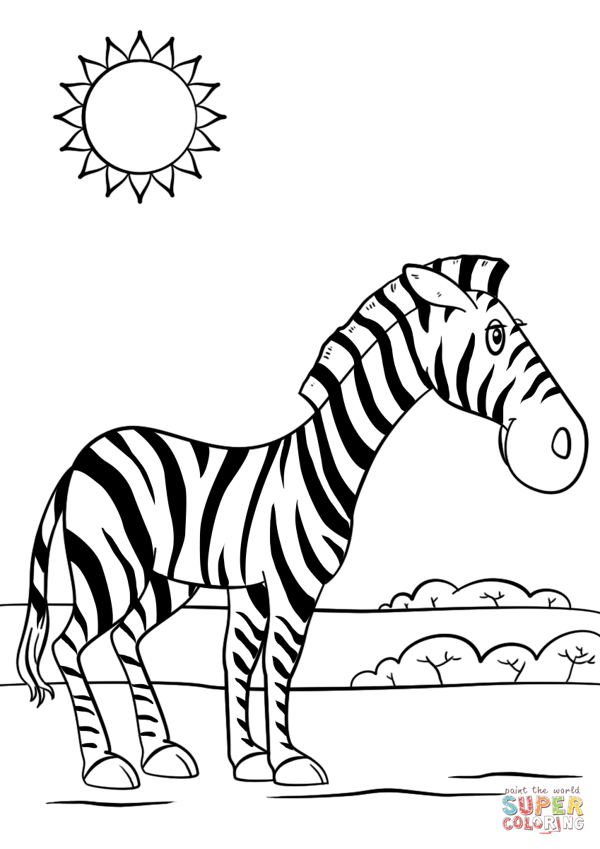 coloring zebra pictures zebra coloring page free printable coloring pages zebra pictures coloring