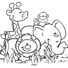 coloring zoo animals clipart black and white zoo animals clipart black and white 8 clipart station black zoo white clipart animals and coloring
