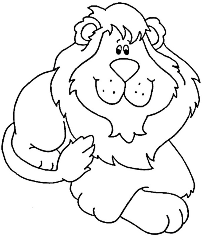 colouring images of lion coloring ville lion images colouring of