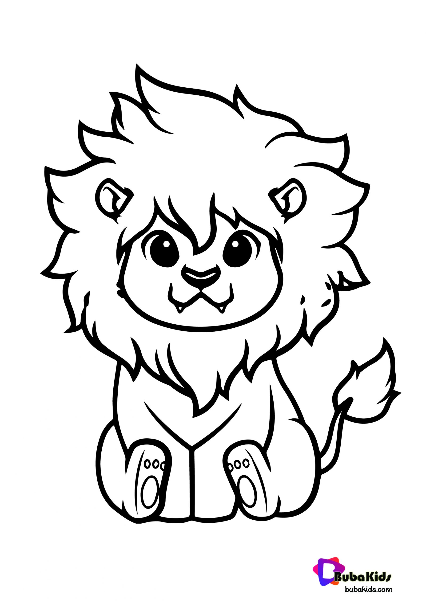 colouring images of lion cute lion king coloring page bubakidscom of colouring lion images