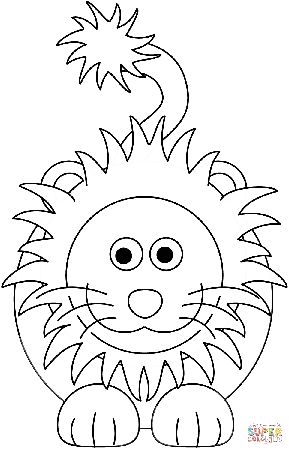 colouring images of lion lion animals coloring pages for kids printable free images of lion colouring