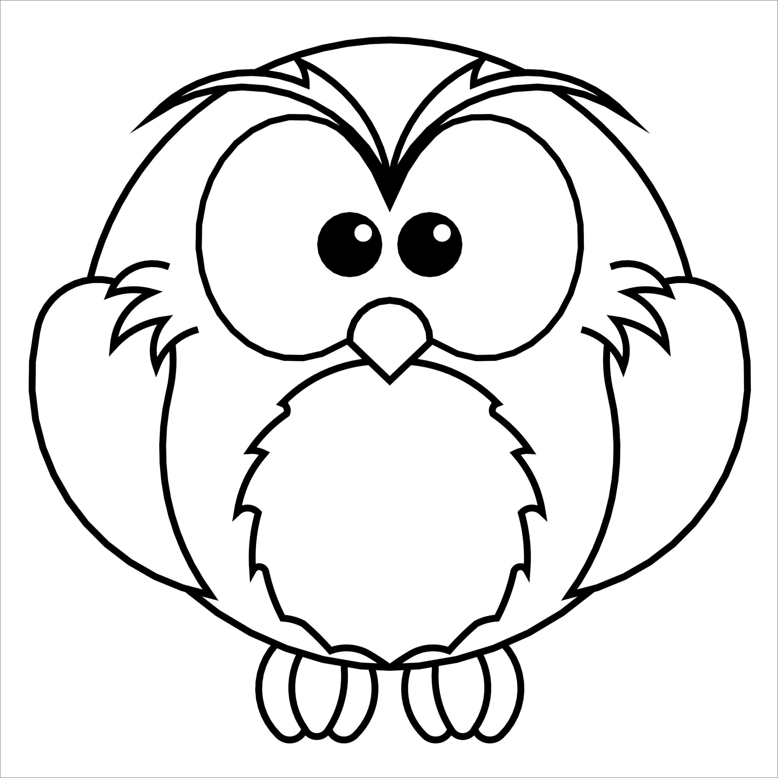 colouring owl night animals coloring pages food ideas colouring owl