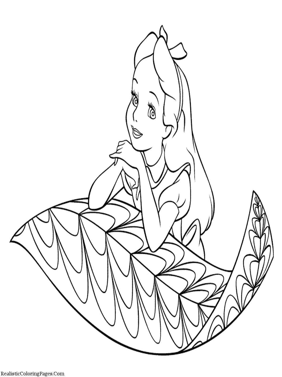colouring pages alice in wonderland alice in wonderland coloring pages realistic coloring pages colouring wonderland alice pages in