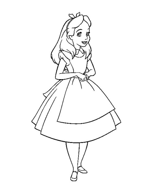 colouring pages alice in wonderland beautiful alice in wonderland coloring page download colouring wonderland in pages alice