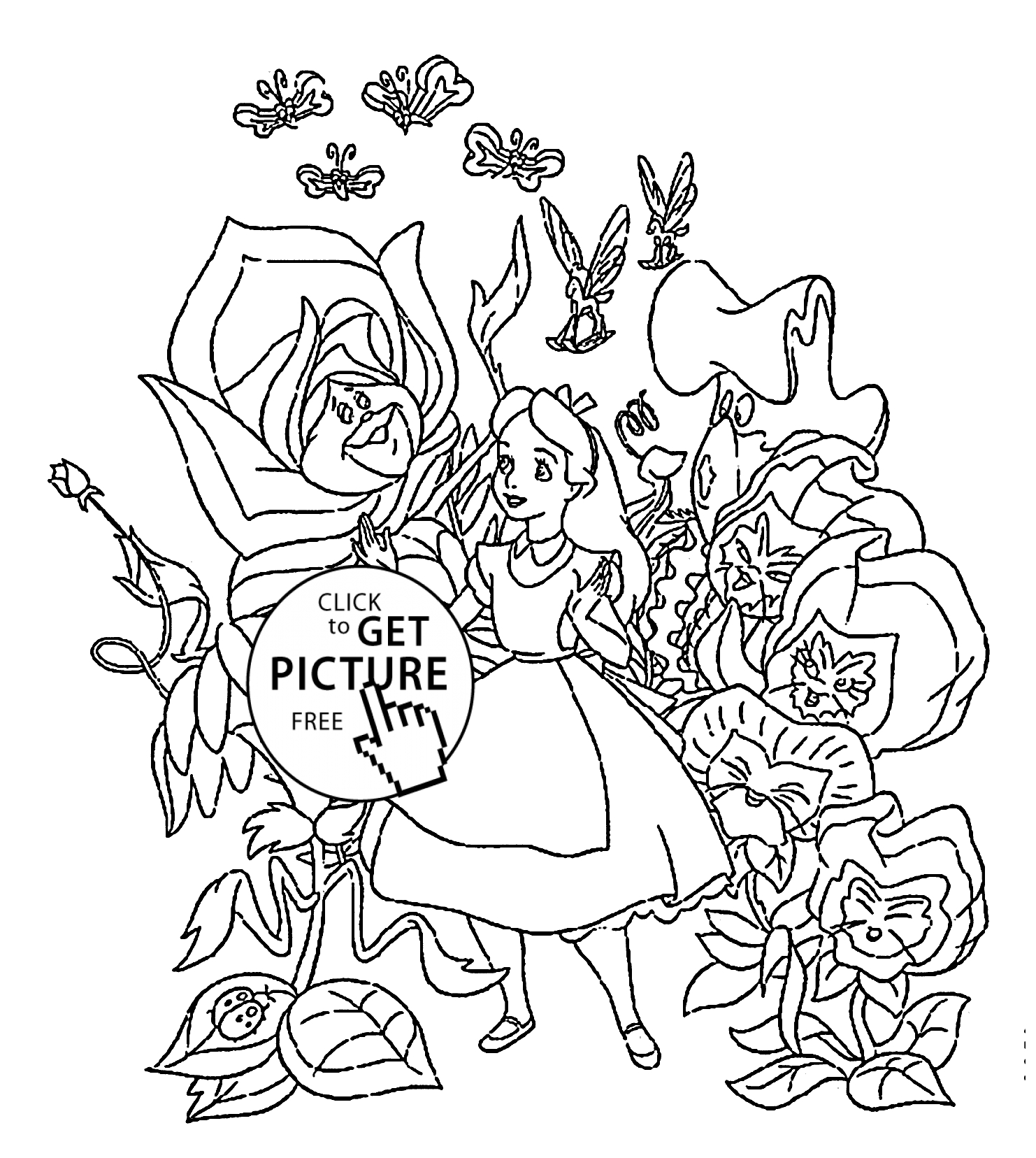 colouring pages alice in wonderland free printable alice in wonderland coloring pages for kids wonderland in pages colouring alice