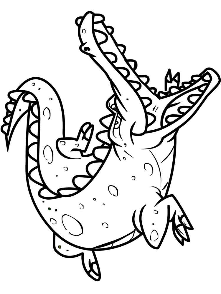colouring pages crocodile free printable crocodile coloring pages for kids pages crocodile colouring 1 1