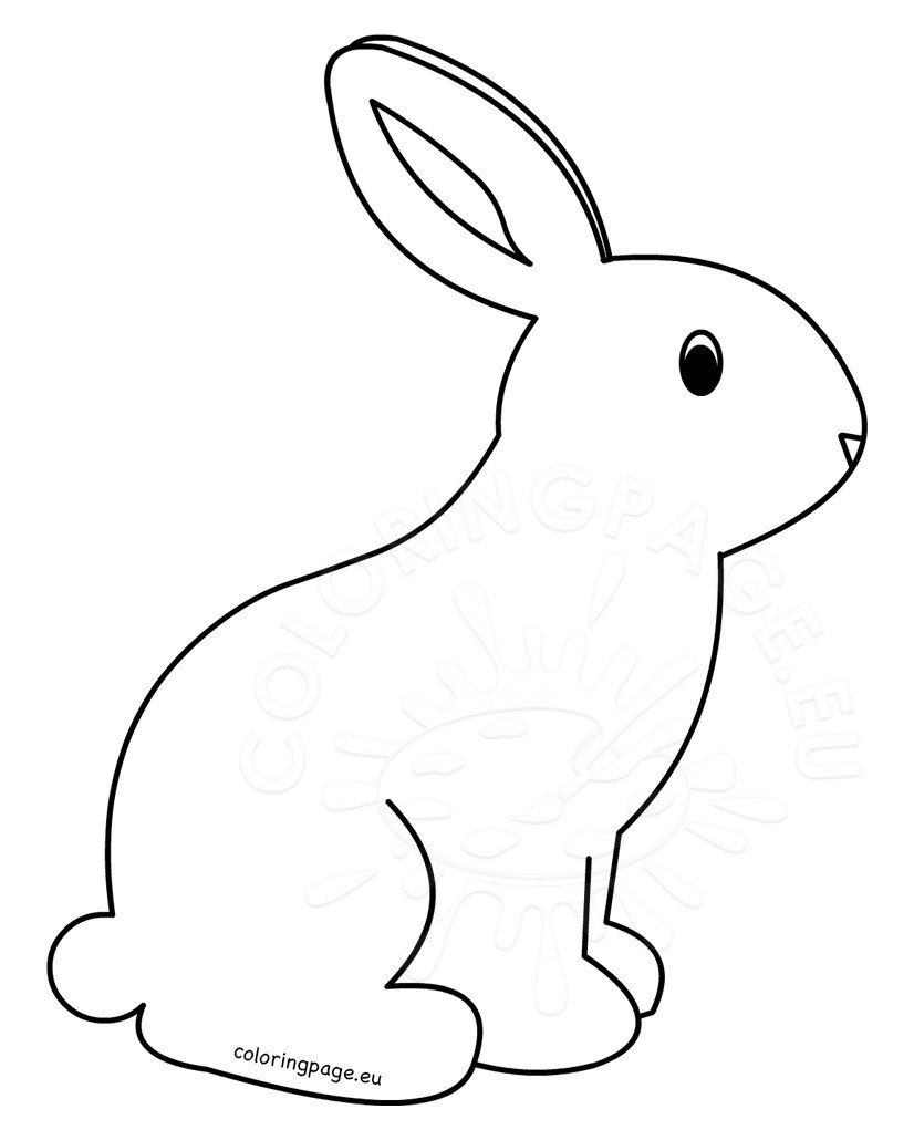 colouring pages of rabbit cute bunny colouring image rabbit pages of colouring