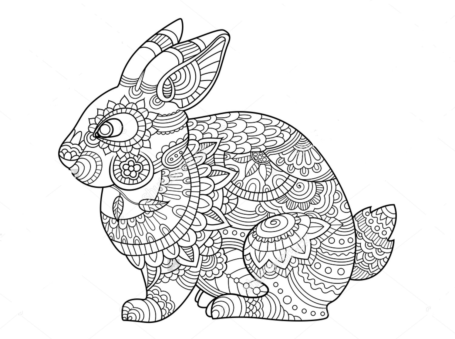 colouring pages of rabbit don39t eat the paste bunny coloring page colouring pages rabbit of