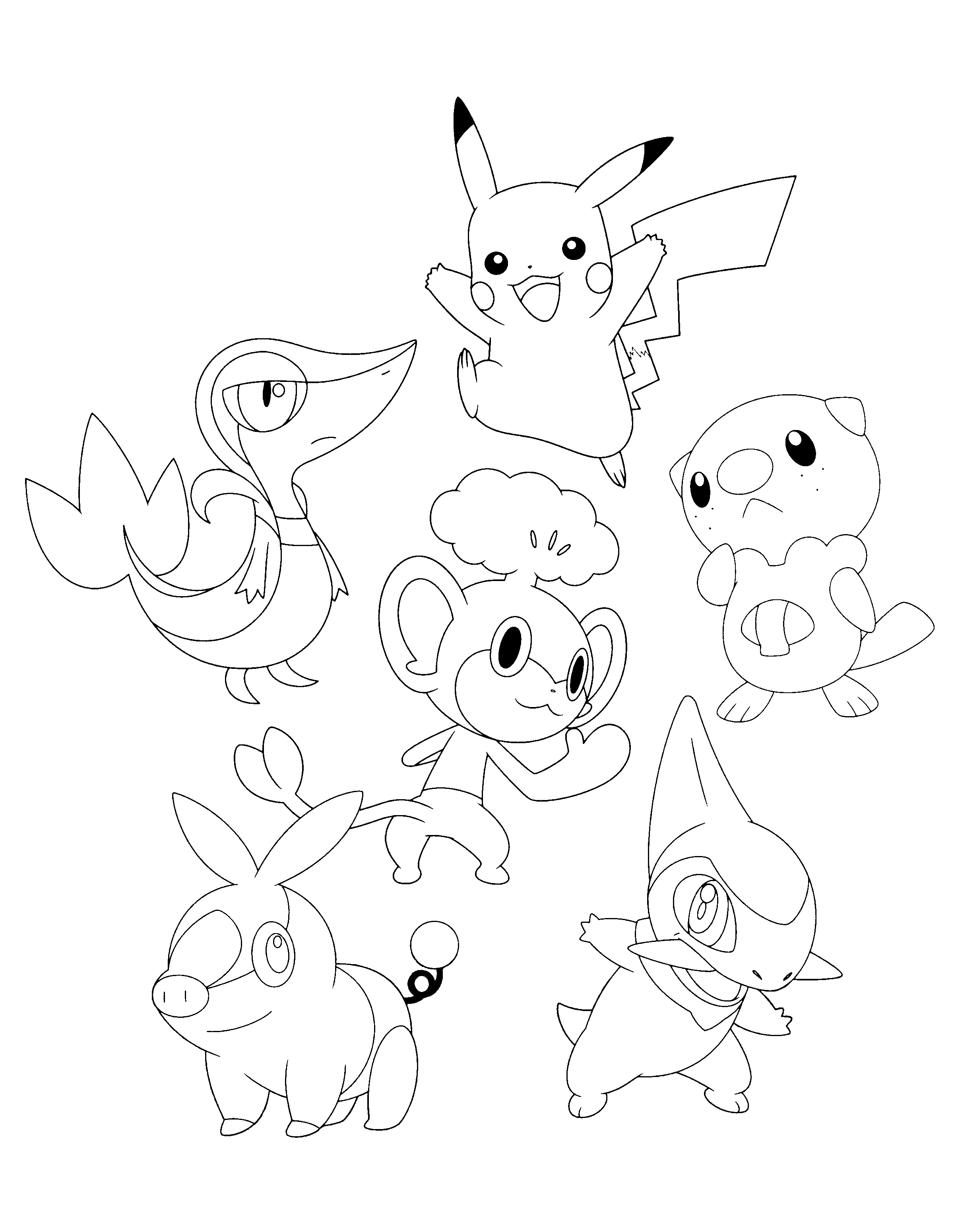 colouring pages pokemon black and white pokemon axew coloring pages coloring home pages pokemon black white and colouring