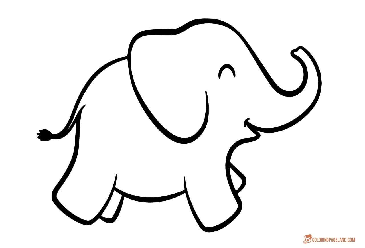 colouring picture of elephant coloring pages of elephants download and print for free elephant picture of colouring