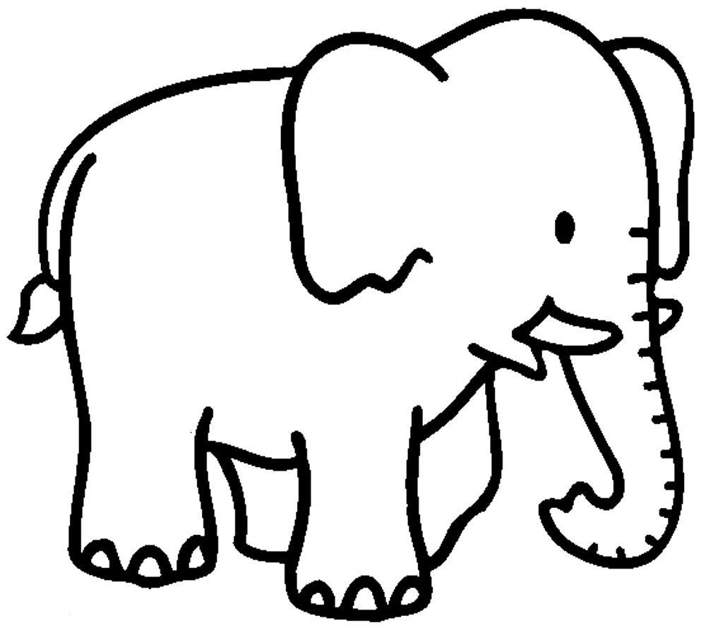 colouring picture of elephant print download teaching kids through elephant coloring colouring picture of elephant