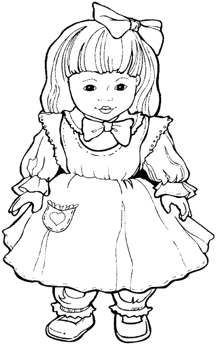 colouring picture of girl little girl coloring pages getcoloringpagescom picture girl of colouring