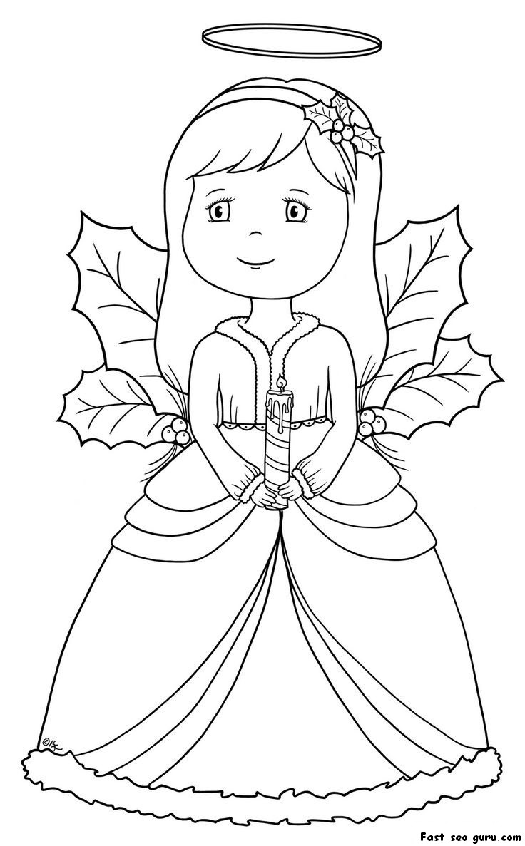 colouring pictures of angels angel coloring pages coloringrocks of colouring pictures angels