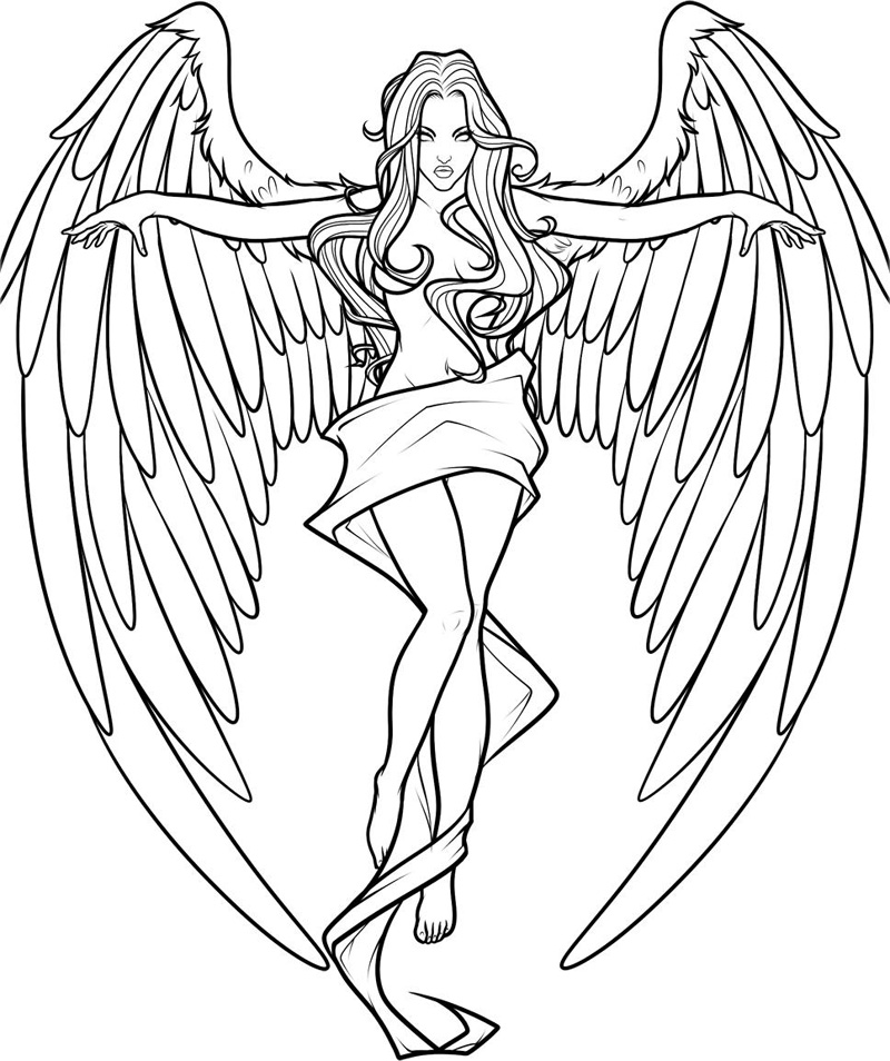 colouring pictures of angels christmas angel coloring pages for kids dyg printable pictures angels of colouring