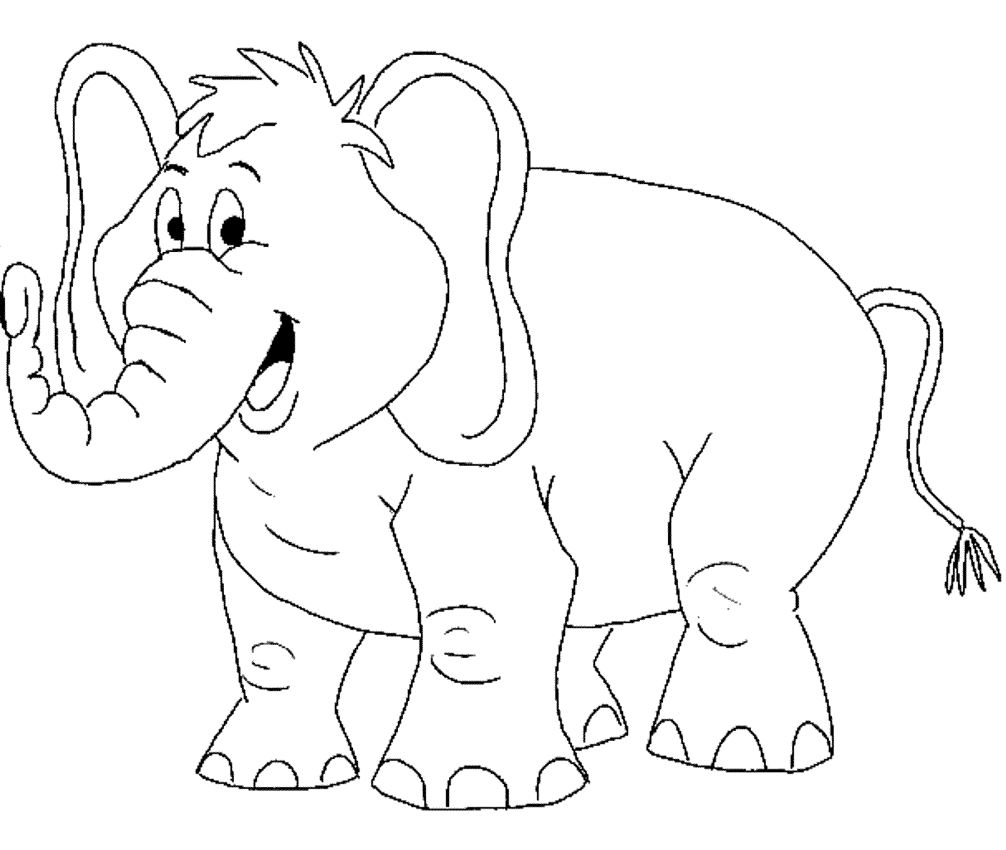 colouring pictures of elephant elephant coloring pages for toddlers bestappsforkidscom of colouring elephant pictures